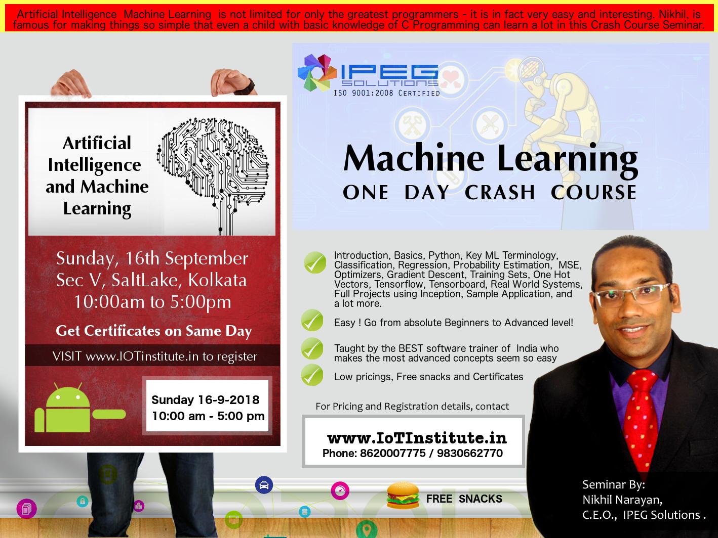 Internet of Things - IoT Training in Kolkata, India